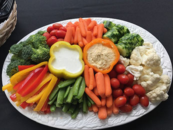 Bozeman Catering Vegetable Tray